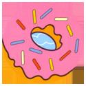 Tazos > Series 10 - Simpsons Bowl-A-Rama > Bowl-A-Rama Balls Donut.