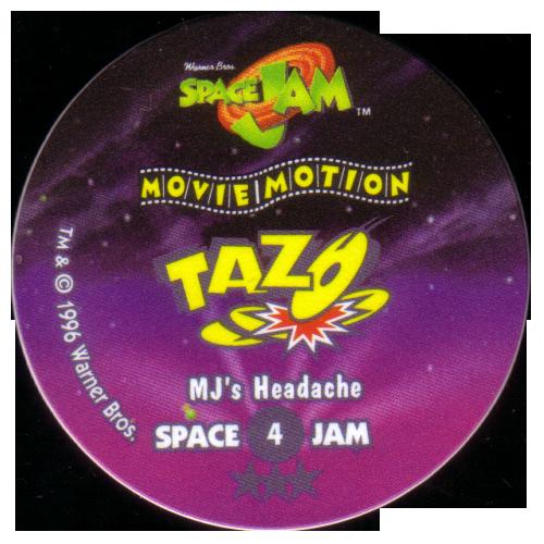 Tazos > Series 2 - Space Jam > 01-20 Movie Motion