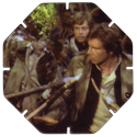 Tazos > Series 3 - Star Wars > 101-130 Techno 124-Han-Solo-Captured-By-Ewoks.
