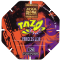 Tazos > Series 3 - Star Wars > 101-130 Techno 126-Princess-Leia-(back).