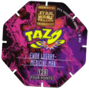Tazos > Series 3 - Star Wars > 101-130 Techno 128-Ewok-Logray---Medicine-Man-(back).