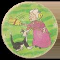 Tazos > Elma Chips > 001-040 Tazo Looney Tunes 039-Sylvester,-Granny-&-Tweety.