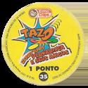 Tazos > Elma Chips > 001-040 Tazo Looney Tunes Tazo-Back.