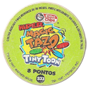 Tazos > Elma Chips > 201-240 Hiper Magic Tiny Toon Hiper-Magic-Tazos-Back.