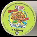 Tazos > Elma Chips > 201-240 Hiper Magic Tiny Toon Hiper-Magic-Tazos-Back.