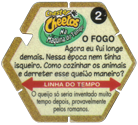 Tazos > Elma Chips > Chester Cheetos Na Máquina do Tempo 02-O-Fogo-(back).