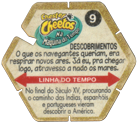 Tazos > Elma Chips > Chester Cheetos Na Máquina do Tempo 09-Descobrimentos-(back).