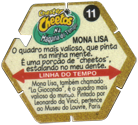 Tazos > Chester Cheetos Na Máquina do Tempo 11-Mona-Lisa-(back).