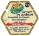 Tazos > Elma Chips > Chester Cheetos Na Máquina do Tempo 13-No-Tempo-Das-Diligências-(back).