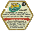 Tazos > Elma Chips > Chester Cheetos Na Máquina do Tempo 15-O-Carro-(back).