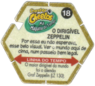 Tazos > Elma Chips > Chester Cheetos Na Máquina do Tempo 18-O-Dirigível-Zeppelin-(back).