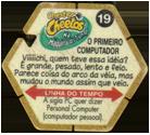 Tazos > Elma Chips > Chester Cheetos Na Máquina do Tempo 19-O-Primeiro-Computador-(back).