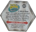 Tazos > Chester Cheetos Na Máquina do Tempo 22-O-Walk-man-(back).