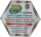 Tazos > Chester Cheetos Na Máquina do Tempo 27-O-Telefone-(back).