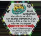 Tazos > Elma Chips > Chester Cheetos Na Máquina do Tempo 32-Brasil-Octacampeão-(back).