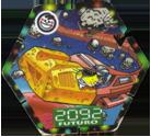 Tazos > Elma Chips > Chester Cheetos Na Máquina do Tempo 36-Trem-Interplanetário.