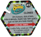 Tazos > Chester Cheetos Na Máquina do Tempo 45-Clones-(back).