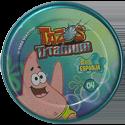 Tazos > Elma Chips > Titanium - Bob Esponja Back-Patrick-1.