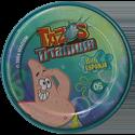Tazos > Elma Chips > Titanium - Bob Esponja Back-Patrick-2.