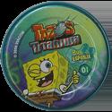 Tazos > Elma Chips > Titanium - Bob Esponja Back-Spongebob-1.
