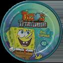 Tazos > Elma Chips > Titanium - Bob Esponja Back-Spongebob-2.