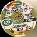 Tazos > Elma Chips > Toon Tazo na Copa - gold 03-Seleção-é-o-Bicho-(back).