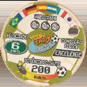 Tazos > Elma Chips > Toon Tazo na Copa - gold Cartoon-Network-(back).