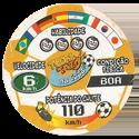 Tazos > Elma Chips > Toon Tazo na Copa - standard 22-Cartão-Vermelho-(back).