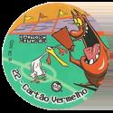 Tazos > Elma Chips > Toon Tazo na Copa - standard 22-Cartão-Vermelho.