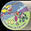 Tazos > Elma Chips > Toon Tazo na Copa - standard 26-Entrando-de-Carrinho.