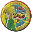 Tazos > Elma Chips > Yu-Gi-Oh! Metal Tazos 05-Odion-(back).