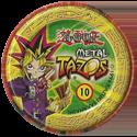 Tazos > Elma Chips > Yu-Gi-Oh! Metal Tazos 10-Buster-Blader-(back).