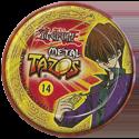 Tazos > Elma Chips > Yu-Gi-Oh! Metal Tazos 14-Supremo-Dragão-Brancò-de-Olhos-Azuis-(back).