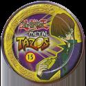 Tazos > Elma Chips > Yu-Gi-Oh! Metal Tazos 15-Mago-Negro-(back).