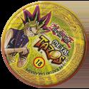 Tazos > Elma Chips > Yu-Gi-Oh! Metal Tazos 18-Guerreiro-do-Machado-(back).