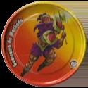 Tazos > Elma Chips > Yu-Gi-Oh! Metal Tazos 18-Guerreiro-do-Machado.