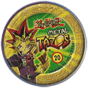 Tazos > Elma Chips > Yu-Gi-Oh! Metal Tazos 20-Dragão-Alado,-Guardião-da-Fortaleza-(back).
