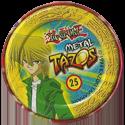 Tazos > Elma Chips > Yu-Gi-Oh! Metal Tazos 25-Beta,-o-Guerreiro-Imã-(back).