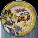 Tazos > Elma Chips > Yu-Gi-Oh! Metal Tazos 26-Dragão-Caveira-Negro-(back).