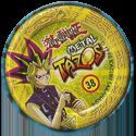 Tazos > Elma Chips > Yu-Gi-Oh! Metal Tazos 38-Dragão-Papagaìo-(back).