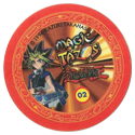 Tazos > Elma Chips > Yu-Gi-Oh! Magic Tazo 01-10-Back-Red-Yami-Yugi-1.