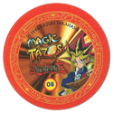 Tazos > Elma Chips > Yu-Gi-Oh! Magic Tazo 01-10-Back-Red-Yami-Yugi-3.