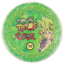 Tazos > Elma Chips > Yu-Gi-Oh! Magic Tazo 11-20-Back-Green-Mai-Valentine.