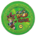 Tazos > Elma Chips > Yu-Gi-Oh! Magic Tazo 11-20-Back-Green-Yami-Yugi-3.