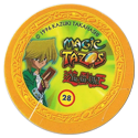 Tazos > Elma Chips > Yu-Gi-Oh! Magic Tazo 21-30-Back-Yellow-Joey-Wheeler-1.