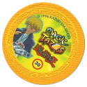 Tazos > Elma Chips > Yu-Gi-Oh! Magic Tazo 21-30-Back-Yellow-Joey-Wheeler-2.