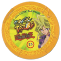 Tazos > Elma Chips > Yu-Gi-Oh! Magic Tazo 21-30-Back-Yellow-Mai-Valentine.