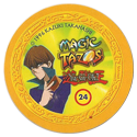 Tazos > Elma Chips > Yu-Gi-Oh! Magic Tazo 21-30-Back-Yellow-Seto-Kaiba.