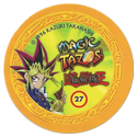 Tazos > Elma Chips > Yu-Gi-Oh! Magic Tazo 21-30-Back-Yellow-Yami-Yugi.