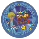Tazos > Elma Chips > Yu-Gi-Oh! Magic Tazo 31-40-Back-Blue-Joey-Wheeler-2.